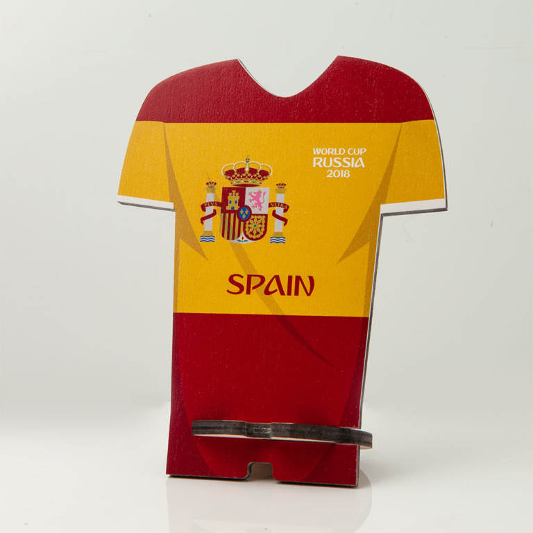 Smartphone stand World Cup Russia 2018 Spain